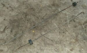 (2pc) 83-86 Datsun 720 Truck Left & Right Tail Gate Latch / Handle Linkage Rods