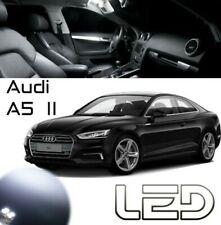 Audi A5 2 F5 9 Bombillas LED Blanco Iluminación Luz Techo Cabina Plancha Pies