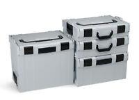 L-Boxx Koffersystem Bosch Sortimo Sortimentskasten Werkzeugkoffer | L Boxx grau