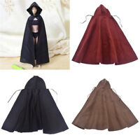 1/6 Scale Female Cloak Long Coat for 12 inch Action Figure Toys Accessories Gift
