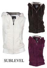Ärmellose Herren-Kapuzenpullover & -Sweats im Fleece-Stil
