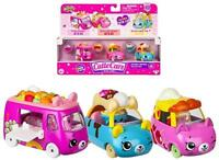 New! Shopkins Cutie Car, Dessert Drivers Collection, Die Cast Body