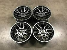 "18"" BBS RC Style Alloy Wheels MASSIVE CONCAVE Gun Metal BMW E60 E61 M5 E46 M3"