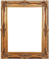 """7.75"""" fancy Gold Ornate Oil Painting Wood Picture Frames4art 223G"""