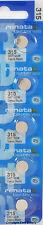 5 pcs 315 Swiss Renata Watch Batteries SR716SW SR716  0% MERCURY