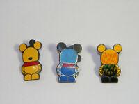 Lot of 3 Disney pins assorted Vinylmation