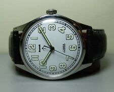 VINTAGE HMT MILITARY WINDING 17 JEWELS GC27257 WRIST WATCH OLD USED G696 ANTIQUE