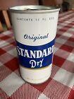 Vintage clean Standard dry zip tab empty beer can