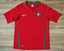 KIDS BOYS 10-12Y PORTUGAL NATIONAL TEAM FOOTBALL SHIRT 2008/09/10 HOME JERSEY