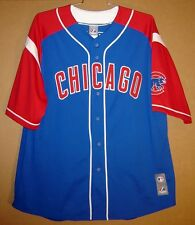 CHICAGO CUBS ALFONSO SORIANO Blue & Red Baseball MLB ROAD Size XXL JERSEY