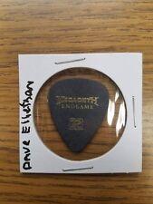 DAVID (DAVE) ELLEFSON MEGADETH ENDGAME Guitar Pick