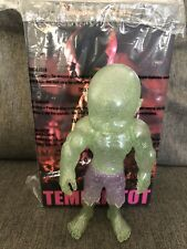 NEW Ron English Temper Tot Mad Lad Pose Clear / Glitter RARE 2012 8.5in SIGNED