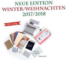 Sizzix Big Shot Plus, DINA4 Präge & Schneidemaschine, WINTER EDITION 2017