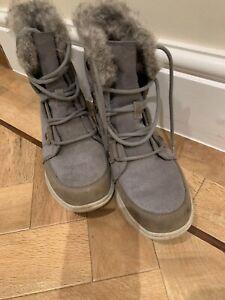 Sorel Explorer Joan Winter Snow Boots Size 5