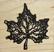 MAPLE LEAF Rubber Stamp CCA760 CC Rubber Stamps Brand NEW! leaves nature