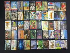 Mixed Lot 50 Australian Used Phonecards Telecom Telstra Phonecard Lot K