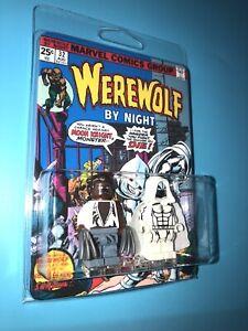 Werewolf By Night WWBN Vs Moon Knight Custom Packaged Mini-Figure Comic Book 32