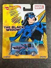 Hot Wheels 2015 Pop Culture Marvel Comics BLACK WIDOW COMBAT MEDIC DJG87