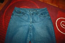 Rockmans Blue Stretch Capri Jeans Sz 14