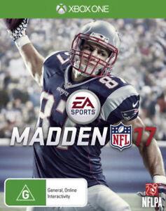 Madden NFL 17 Xbox One aus Game