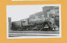 Western of Alabama 4-6-0 Steam Locomotive #129- B&W Railroad Photo