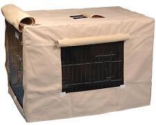 Precision Pet Dog Crate Cover-Indoor/Outdoor - 6000-Tan CrCov-6000-Tan