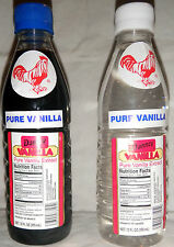 2 X Danncy Pure Mexican Vanilla Extract 12oz Each Plastic Bottles Sealed Mexico