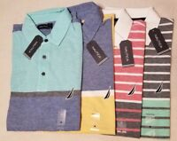 $69 NEW NWT NAUTICA MEN'S POLO SHIRT SIZE M L XL XXL 2X S/S 100% COTTON CLASSIC