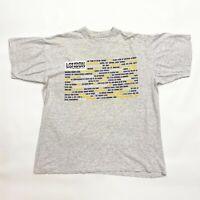 London 40th Film Festival 1996 Tshirt | Vintage 90s Movie Event Grey XL VTG