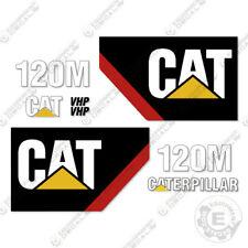 Caterpillar 120M Decal Kit Scraper Equipment Decals Motor Grader