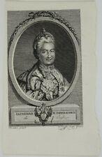 CATHERINE II IMPERATRICE 1786 РОССИЯ ЕКАТЕРИ́НА ВЕЛИ́КАЯ WILLIAM COXE BOOK