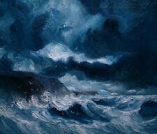 "Oil painting ""Sea..."", Justyna Kopania"