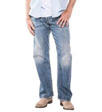 Silver Jeans ZAC MEN Size 34 x 34 Zac RELAXED STRAIGHT LEG M4408P1254