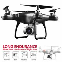 Drone 2.4G Selfi WIFI FPV With 1080P HD 5MP Camera GPS Return RC Quadcopter 2021