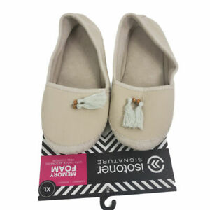 Isotoner Signature Women's Tassel Lola Slip-on Slippers Size XL (9.5 - 10)