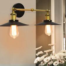 Doppelte Vintage Retro Wandleuchte Wandlampe Außenwandleuchte Regenschirm