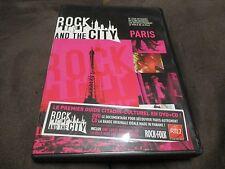 """COFFRET DVD + CD """"ROCK AND THE CITY : PARIS"""""""