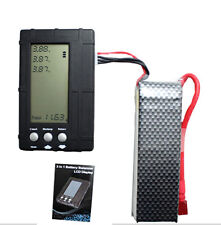 3 in 1 Lipo Battery Balancer RC 2s-6s LiFe LCD Voltage Tester Discharger Charger