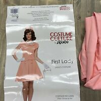 Jackie Kennedy Costume Adult First Lady Jackie O 60s Halloween Size M (8-10)