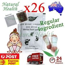 26  Detox Foot Pad Patch Patches KINOKI Herbal Weight loss toxin removal Regular