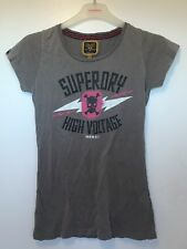Superdry 'high Voltage' Grey T Shirt - Size S