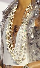 CHANEL Multi-strand necklace From Spring 2012 Collection Retail $ 6,600  NEW