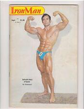 IRONMAN bodybuilding muscle weightlifting magazine/SALVADOR RUIZ & MOHAMMED 9-79