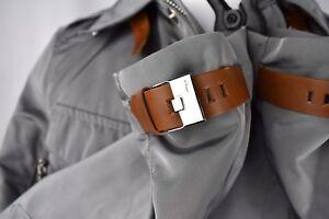 NWT Mens Ralph Lauren BLACK LABEL Leather Trim Escape Jacket Polo Slim S $895