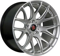 Alloy Wheels (4) 8.5x19 Axe CS Lite Silver 5x120 et35