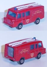 Matchbox 57 Land Rover Fire Engine, feuerrot, KENT / FIRE BRIGADE, mit Leiter