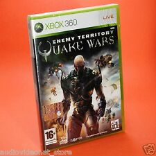 QUAKE WARS ENEMY TERRITORY XBOX 360 sigillato in italiano