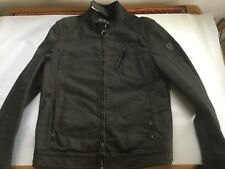 New Belstaff H Racer Jacket Rubberised Jersey XL RRP 495
