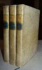 MEDICINA - fig. 1757 - dottrina Halleriana - 3 volumi in 4° - PRIMA EDIZIONE
