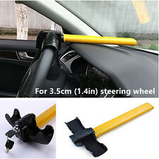 3.5cm Car Anti-Theft Lock Security Device Heavy Duty T-Style Steering Wheel Lock